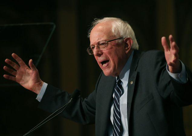 Sen. Bernie Sanders. (Photo: Mark Wilson for Getty Images)