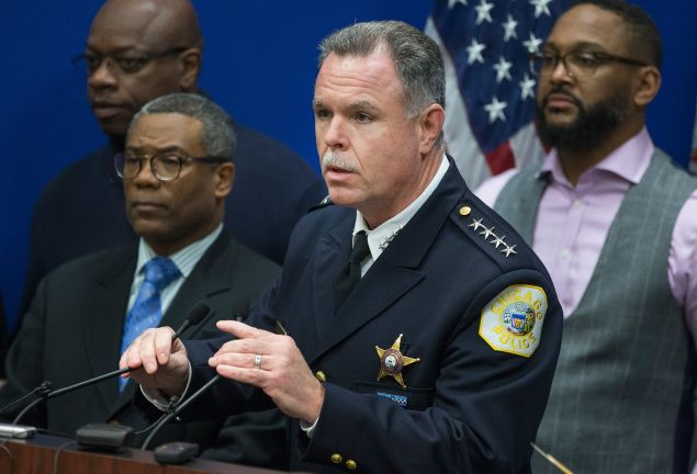 Chicago Police Superintendent Garry McCarthy.  (Photo: Scott Olson for Getty Images)