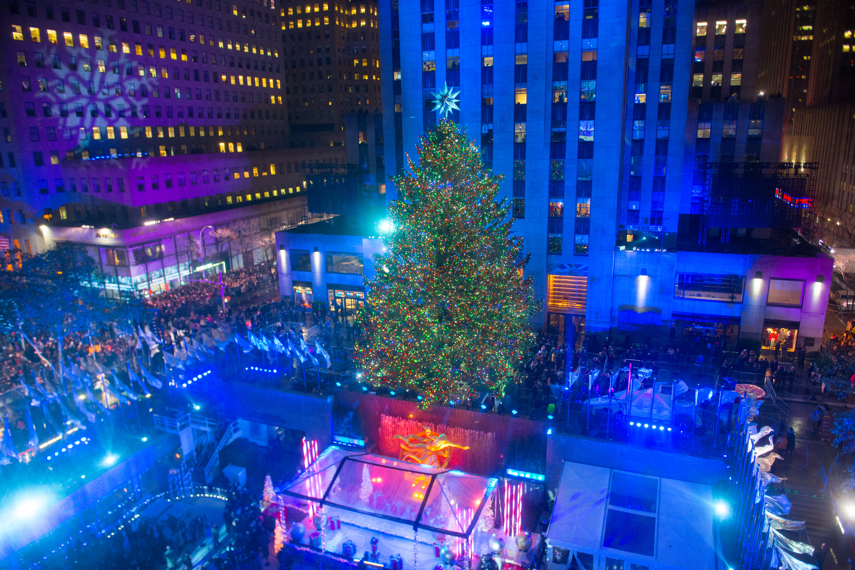 When you gather around the Christmas tree with your family, do you ever wonder: what does Gov. Andrew Cuomo think of this holiday? His press office—and those of other elected officials—have you covered . (Photo by Noam Galai/Getty Images)