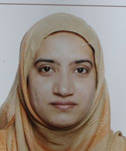 UNSPECIFIED - DECEMBER 4: In this handout provided by the Federal Bureau of Investigation (FBI), Tashfeen Malik poses for a photo at an unsepcified date and location. The FBI announced that it is investigating the San Bernardino shooting suspects Syed Rizwan Farook, 28, and wife Tashfeen Malik, 27, that left 14 people dead and many wounded as an act of terrorism. (Photo by FBI via Getty Images)