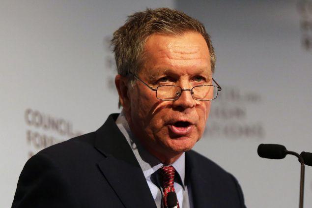 Ohio Gov. John Kasich. (Photo: Spencer Platt for Getty Images)