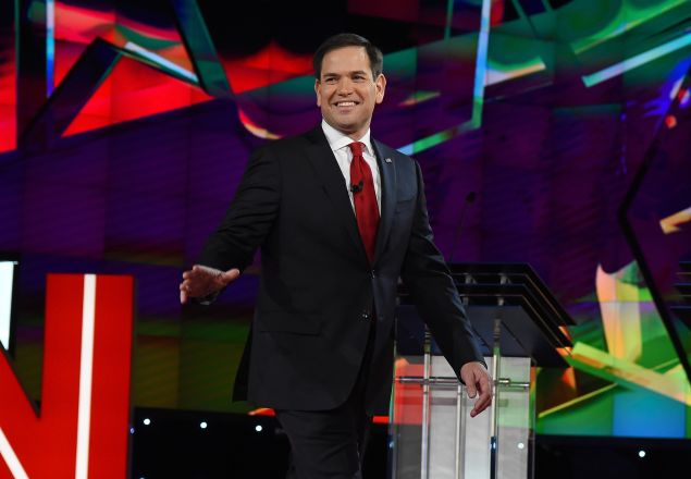 Sen. Marco Rubio. (Photo by Ethan Miller for Getty Images)