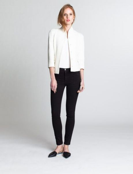 An easy pair of black skinny jeans, the Simone High rise (Photo: Courtesy Industry Standard).