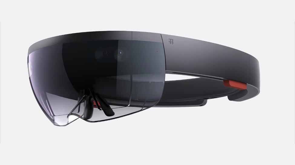 A Microsoft HoloLens Headset (Credit: Microsoft)