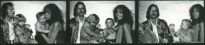 The First Family of '70s pop, James Taylor and Carly Simon, with their children Sally and Ben. (PHOTO: Norman Seeff)