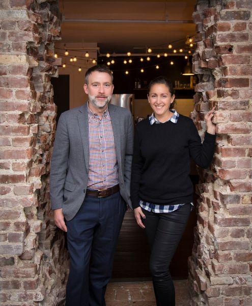 Co-founders Charlie Dougiello and Lois (Photo: Kaitlyn Flannagan for Observer)