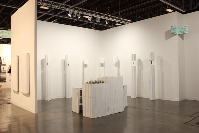 The Real Fine Arts Booth at Art Basel Miami Beach, Positions. (Photo: Courtesy of Real Fine Arts, Brooklyn)