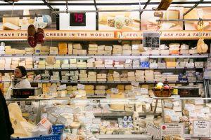 Zabar's renowned cheese department. (Photo: Jennifer Lu for Observer)