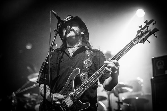 Feb 23, 2012 - San Jose, California, USA - LEMMY of Motörhead performs live at the San Jose Events Center during the Gigantour. (Credit Image: © Jerome Brunet)