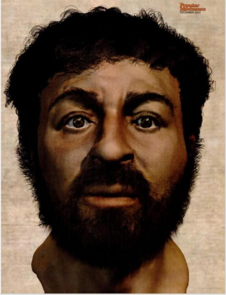What Jesus probably looked like according to scientists.