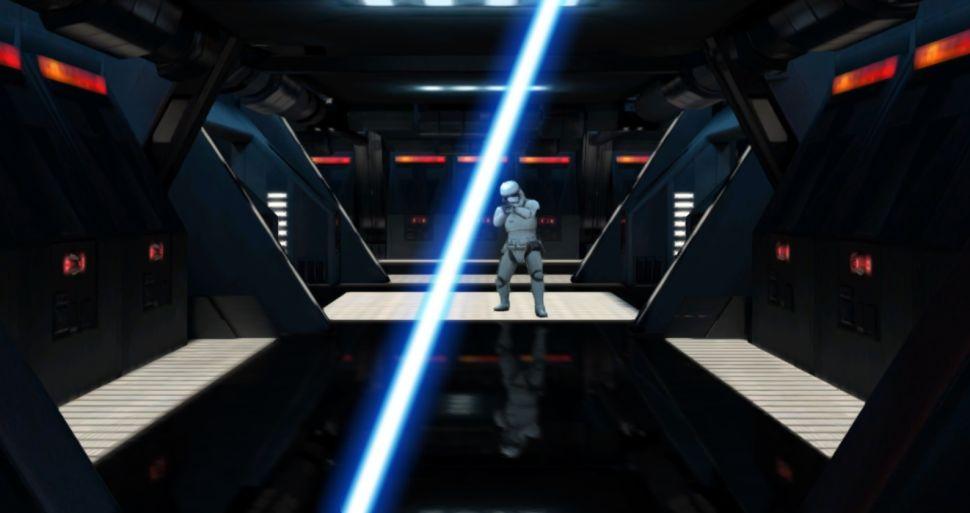 Lightsaber Escape. (Image: screenshot on Google.com)