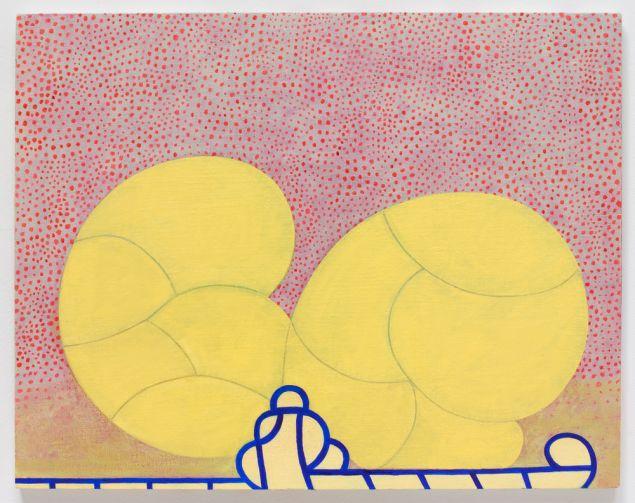 Thomas Nozkowski, Untitled (9-7), 2011. (Photo: Courtesy of Mana Contemporary)