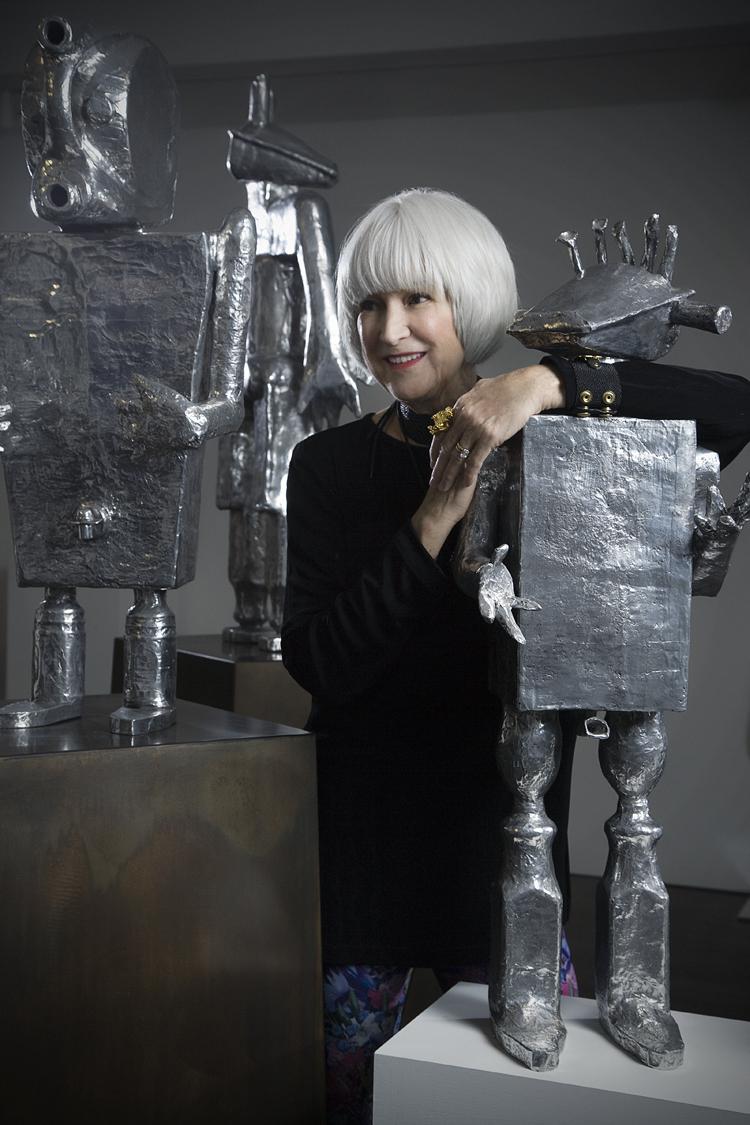 Mia Portrait with Robots (1)