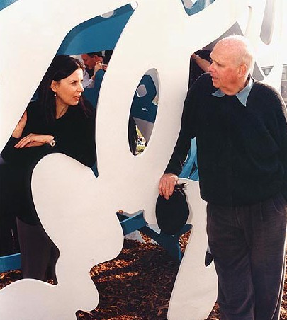 Claes Oldenburg and Coosje van Bruggen.