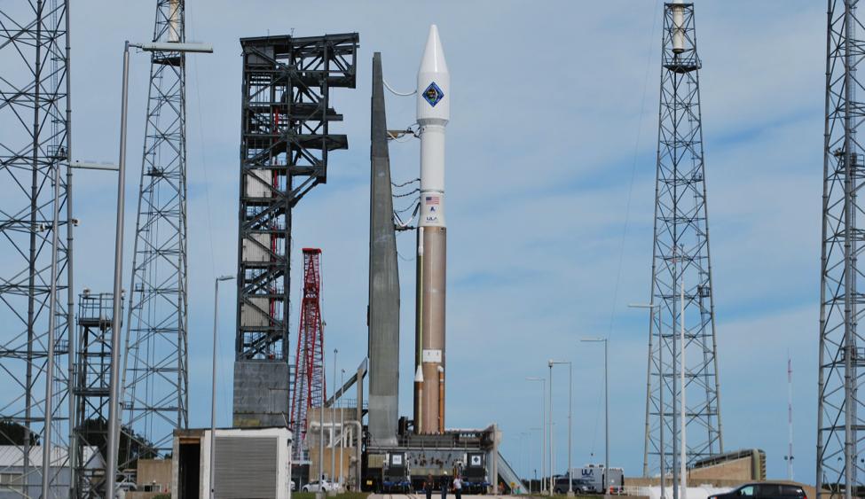 The United Launch Alliance Atlas V Rocket (Credit: Robin Seemangal)