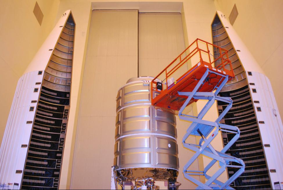 The Orbital ATK Cygnus spacecraft (Credit: Robin Seemangal)