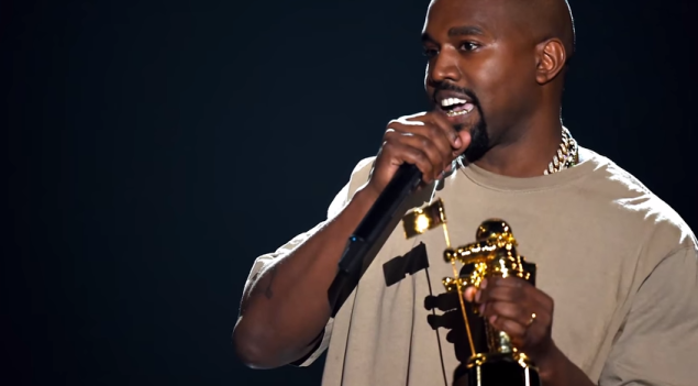 Kanye West's VMA speech sounds a lot better as Seinfeld stand-up. (Screenshot: YouTube)