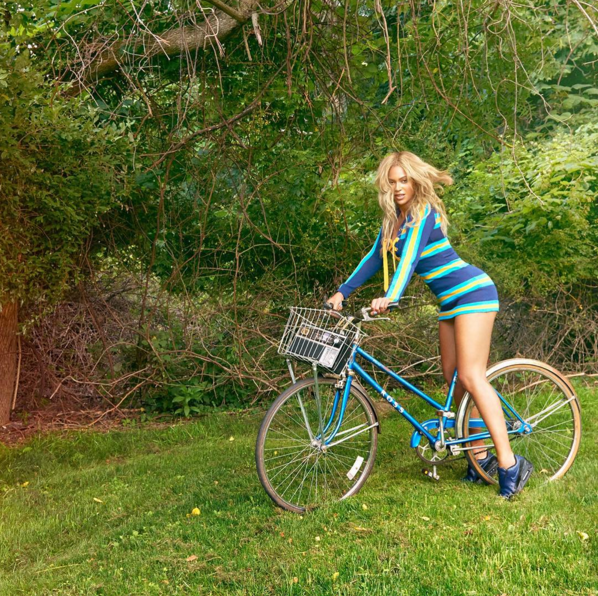 Beyonce on the move (Photo: Beyonce/Instagram).