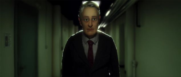 A scene from the animated film Anomalisa.