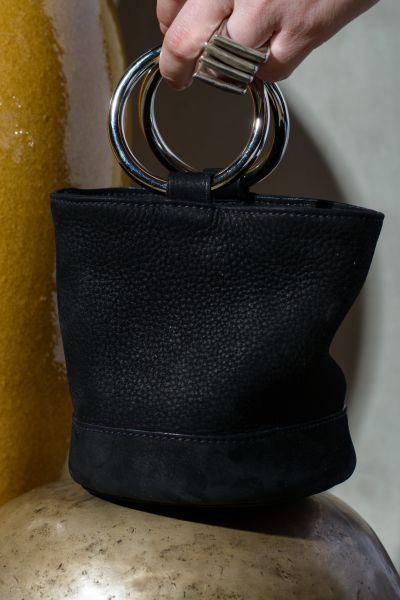 Black + suede = perfection (Photo: Courtesy Simon Miller).