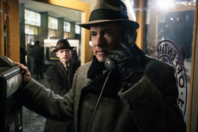Tom Hanks in Bridge of Spies.