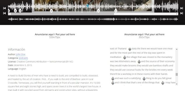 Here's what the page of that 'Unfictional' ep looks like on Smab. (Image: Screenshot Smab.Audio)