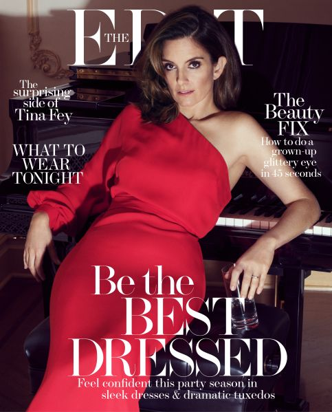 Tina Fey does her cover duties (Photo: Courtesy The Edit).