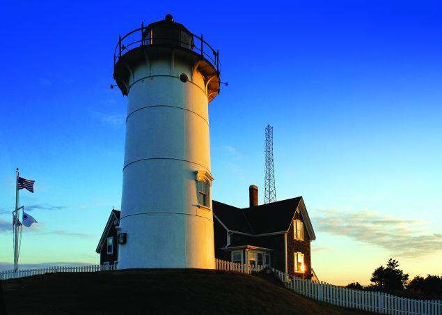 Nobska Point Light, Woods Hole, Cape Cod, Massachusetts, USA