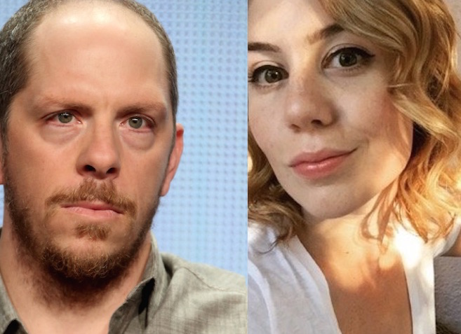 Stephen Falk and Alison Bennett of You're the Worst. (Photos: Getty Images/Twitter)