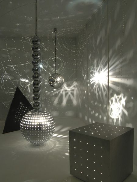 Otto Piene, Light installation (detail) (© Otto Piene Studio, 2013 )