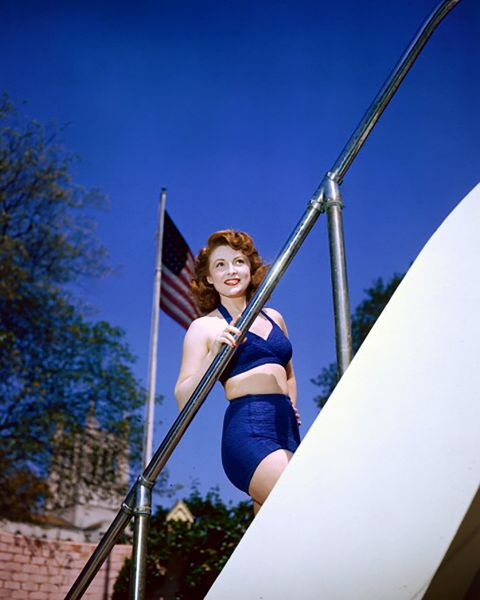 Joan Leslie. (Photo by Silver Screen Collection/Getty Images)