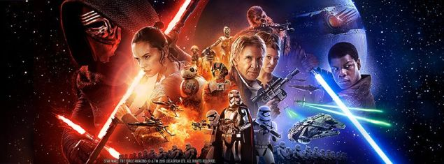 Star Wars: The Force Awakens is nominated in many Oscar tech categories. (Photo: Facebook)