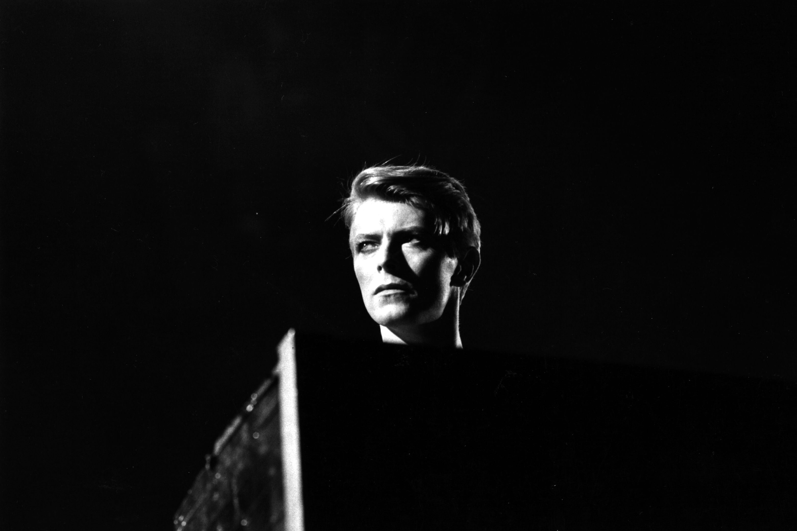 David Bowie performs at Earl's Court, London during his 1978 world tour.