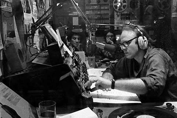 Bob Fass (still from Radio Unnameable). (Courtesy Kino Lorber)