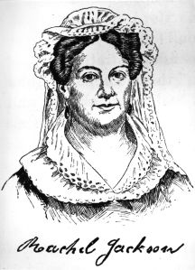 circa 1820: Mrs Rachel Jackson (1769 - 1828), the wife of Andrew Jackson (1767 - 1845), 7th President of the United States of America (1829 - 1837). (Photo by Hulton Archive/Getty Images)