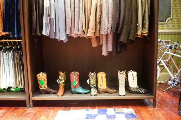 The Jay Kos and Lucchese cowboy boots (Photo: Courtesy Jay Kos).