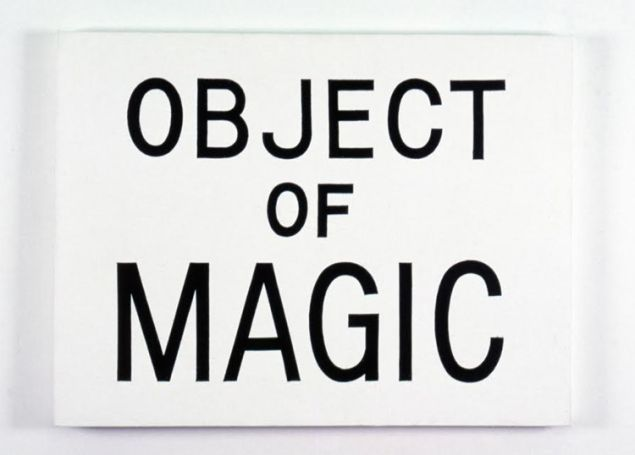 Jonathan Borofsky, Object of Magic, 1984. (© Jonathan Borofsky. Courtesy Paula Cooper Gallery, New York)