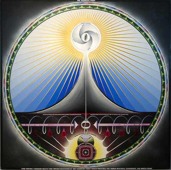 Paul Laffoley, The Visionary Point, 1970. (Photo: Courtesy Kent Fine Art)