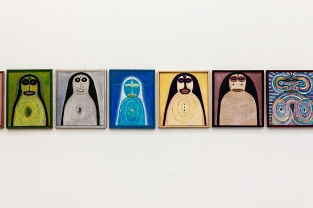 Hans Schärer: Madonnas and Erotic Watercolors, installation view. (Courtesy Swiss Institute and Galerie Anton Meier, © Erben Werk Hans Schärer/ProLitteris, Zurich 2015)