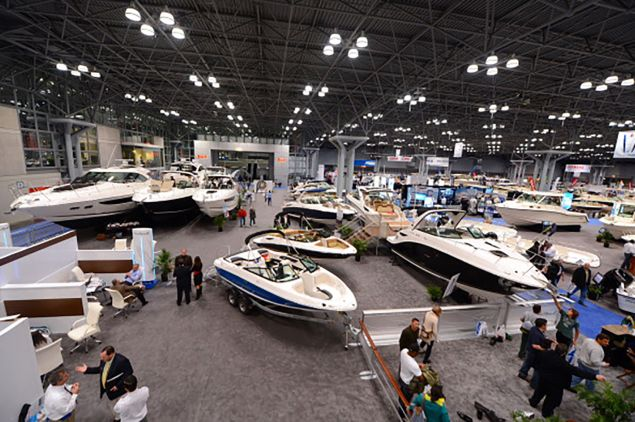 Las year's New York Boat Show at the Jacob K. Javits Convention Center. (Photo: Cem Ozdel - Anadolu Agency)