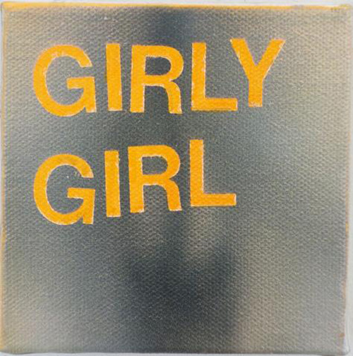 Betty Tompkins, Girly Girl, (2013). (Courtesy the artist and Gavlak Gallery, Los Angeles and Palm Beach)