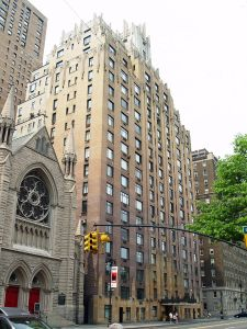 A familiar landmark: the Ghostbusters building at 55 Central Park West. (David Shankbone/Wikimedia)