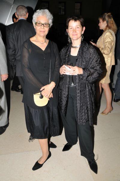 Liliana Porter and the new director of the Tate Modern, Frances Morris. (Photo: Jonathon Ziegler/PatrickMcMullan.com)