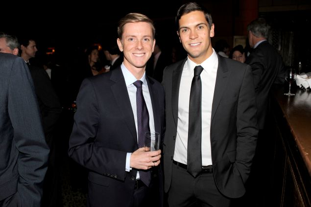 Facebook co-founder Chris Hughes and his husband, Sean Eldridge. (Clint Spaulding/Patrick McMullan)