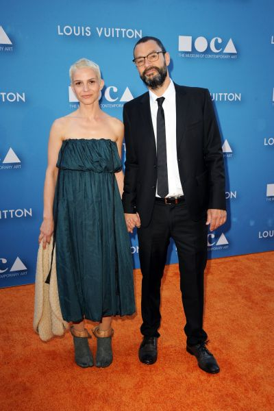 Ana Prvacki, Sam Durant==2015 MOCA GALA==The Geffen Contemporary at MOCA, Los Angeles, CA==May 30, 2015==©Patrick McMullan==Photo - DAVID CROTTY/patrickmcmullan.com====