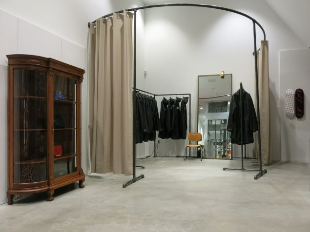 The Vetements space at DSM (Photo: Courtesy Dover Street Market).