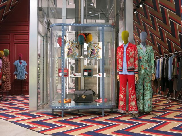 The new Gucci space (Photo: Courtesy Gucci).