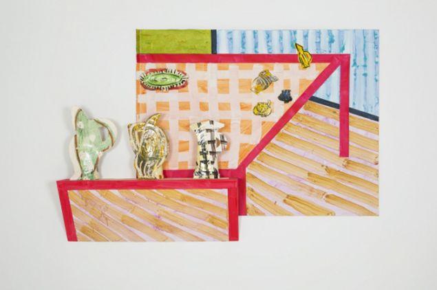 Betty Woodman, Sicilian Dining Room, (2015). (Courtesy Salon 94)