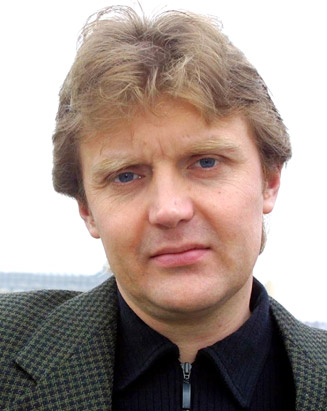 Alexander Litvinenko just months before his assassination in London.