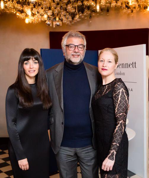 Jennifer Portman, Robert Bensoussan, Natalia Barbieri